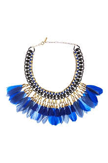 ISABEL MARANT Feathered necklace