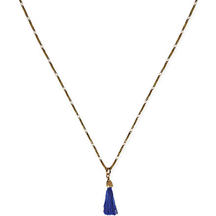 ISABEL MARANT Tassel necklace (Navy