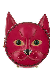 YANG DU Cherry cat backpack