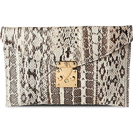 RACHAEL RUDDICK New Opera clutch (Natural