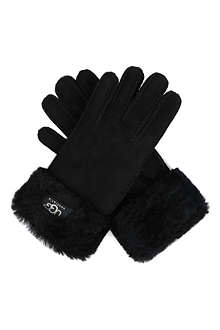 UGG Turn-over cuff sheepskin gloves