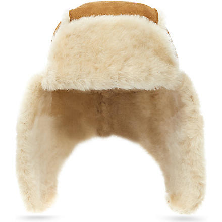 UGG Bailey aviator hat (Chestnut