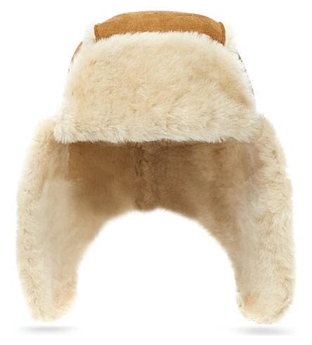 UGG Bailey aviator hat (Chestnut