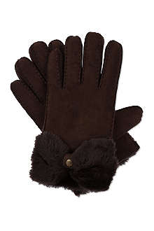 UGG Classic Bow Shorty gloves