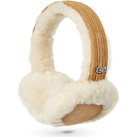 UGG Classic tech sheepskin earmuffs (Chestnut