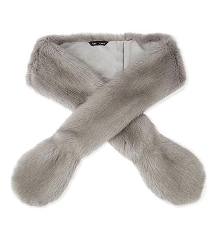 HELEN MOORE Vixen faux-fur stole (Opal