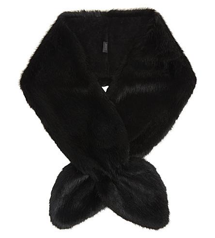 HELEN MOORE Vixen scarf (Black