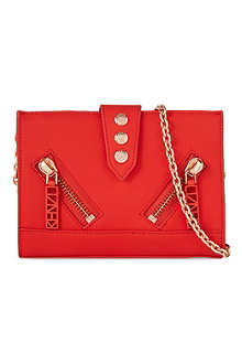 KENZO Kalif rubber mini cross-body bag