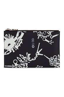 KENZO Printed nylon pouch