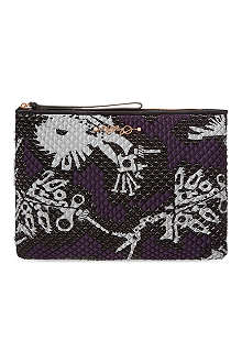KENZO Quilted pouch