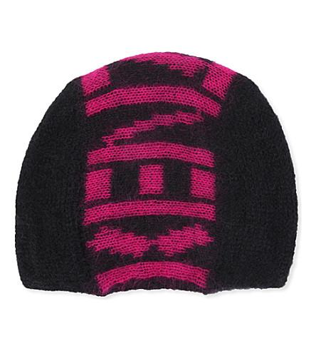 KENZO Logo beanie hat (Pink