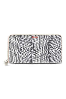 KENZO Continental zip-around wallet