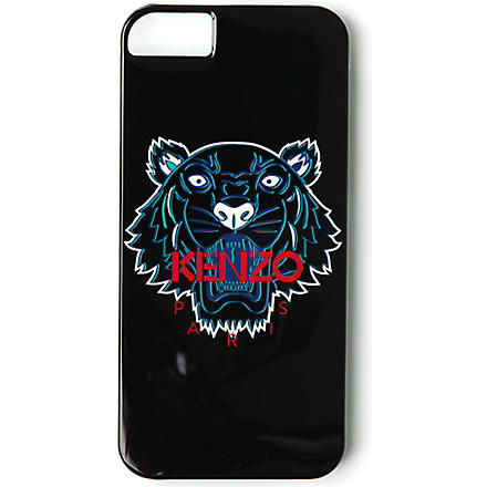 KENZO Tiger print iPhone 5 case (Black