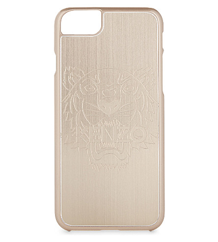 KENZO Tiger iPhone 7 case (Gold