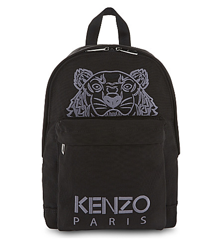 KENZO 虎背包 (黑色