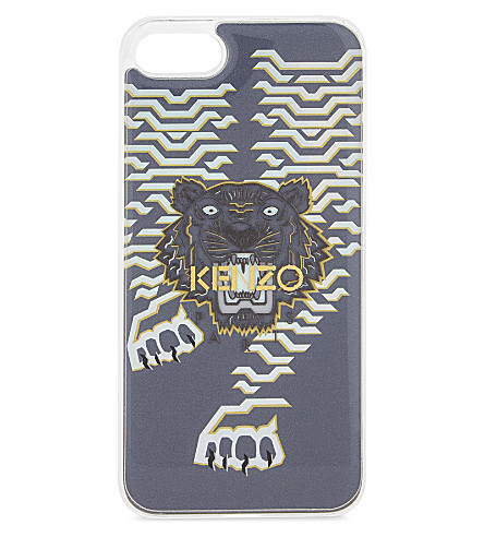 KENZO Mirrored tiger iPhone 7/8 case (Gold