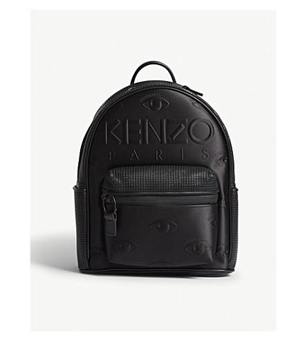 KENZO Kombo neoprene satin backpack (Black