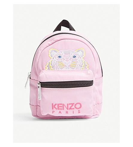 KENZO Tiger backpack (Flamingo+pink