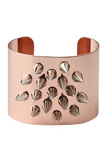 JOOMI LIM Luxe spike medium cuff in rose gold
