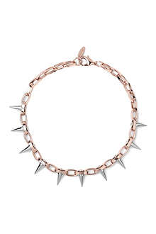 JOOMI LIM Luxe spike choker in rose gold