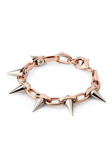 JOOMI LIM Luxe spike bracelet in rose gold