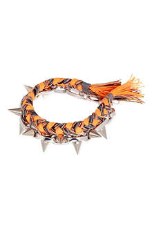 JOOMI LIM Braided spike bracelet