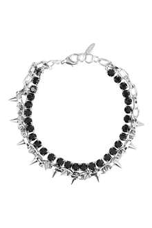 JOOMI LIM Crystal spike necklace