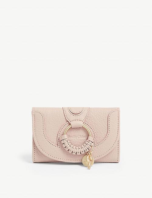 3b70c2f0cd36 SEE BY CHLOE Hana leather wallet