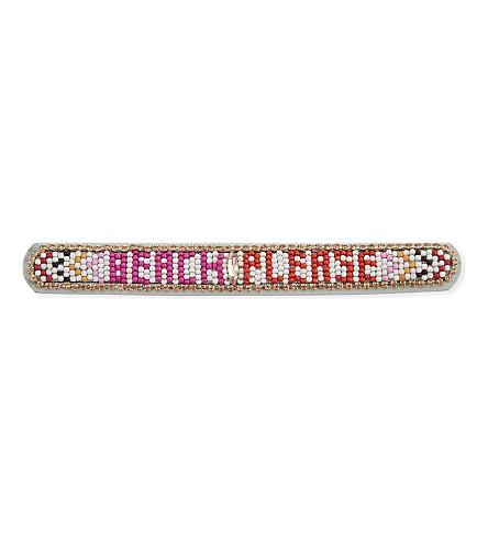 REBECCA MINKOFF Beach, Please friendship bracelet (White+multi