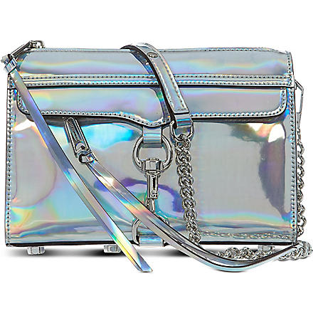 REBECCA MINKOFF Mini 'Morning After Clutch' (Platinum