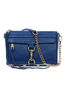 REBECCA MINKOFF M.A.C mini leather clutch