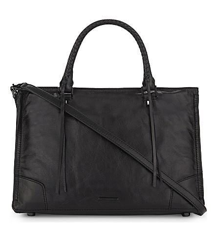 REBECCA MINKOFF Regan leather cross-body bag (Black