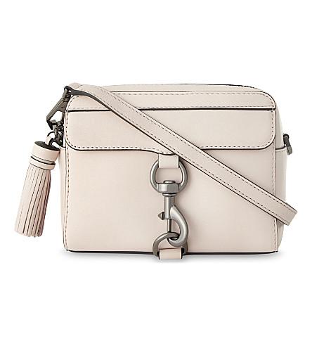 REBECCA MINKOFF M.A.B leather camera cross-body bag (Soft+blush