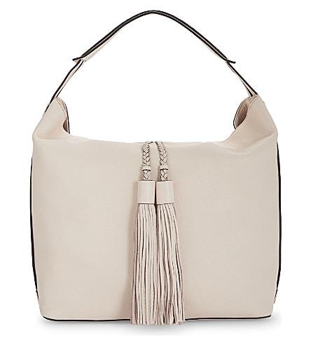 REBECCA MINKOFF Isobel leather hobo bag (Soft blush