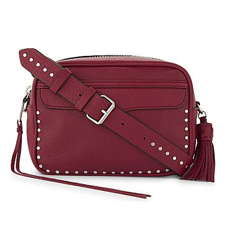 REBECCA MINKOFF Bryn grained leather camera bag (Beet
