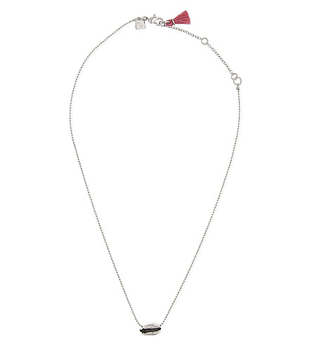 REBECCA MINKOFF Mini Lola necklace (Silver