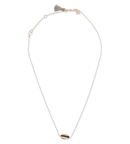 REBECCA MINKOFF Mini Lola neckace (Rose+gold