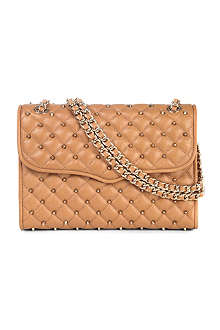 REBECCA MINKOFF Affair diamond quilted-leather shoulder bag
