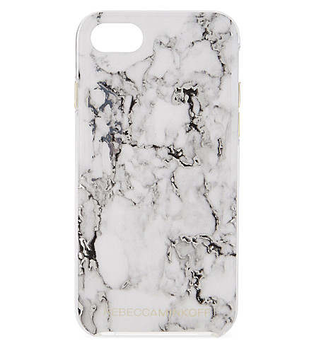 REBECCA MINKOFF Marble effect iPhone 7 case (Marble print