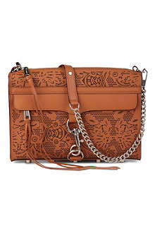 REBECCA MINKOFF Morning After laser-cut clutch