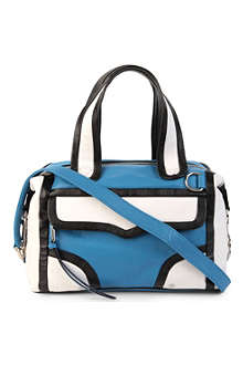 REBECCA MINKOFF M.A.B colourblock mini shoulder bag