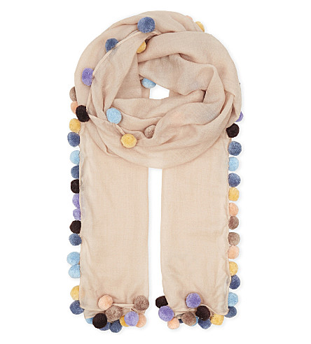 JANE CARR Boho lambswool scarf (Jasmine