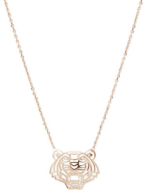 KENZO Tiger charm necklace