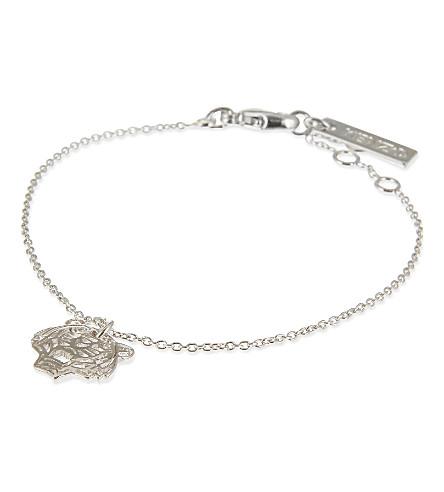 KENZO Mini tiger bracelet (Silver