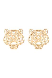 KENZO Tiger head earrings