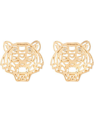 KENZO Tiger head earrings