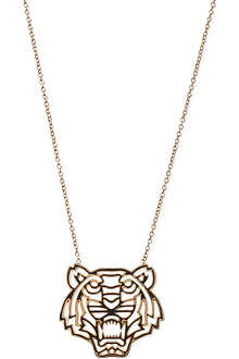 KENZO Tiger head necklace