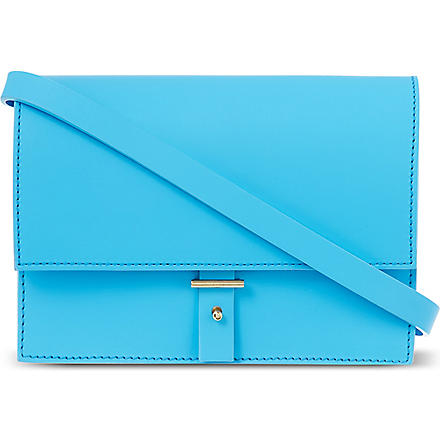 PB0110 Cross-body satchel (Cyan