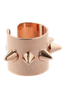MARIA FRANCESCA PEPE Spike 23ct rose gold-plated ear cuff