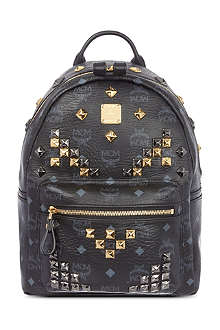 MCM Stark studs small backpack